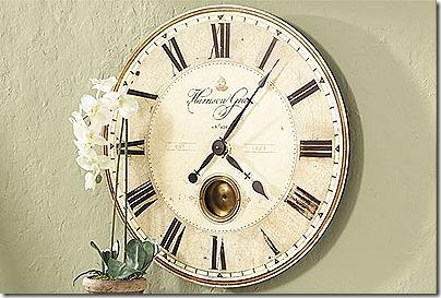 Ballard Designs clock