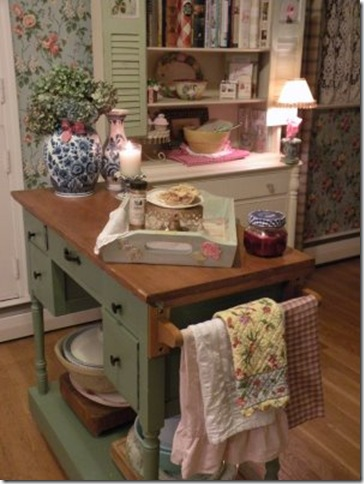 Cynthia's Cottage Design kitchen island