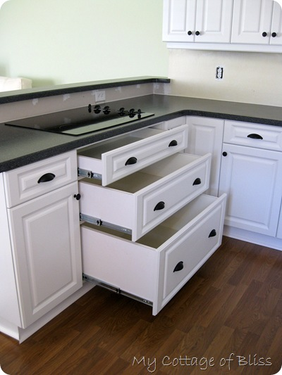 The Appealing Kitchen cabinet hardware placement ideas Images