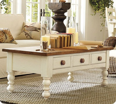 PB Newberry coffee table