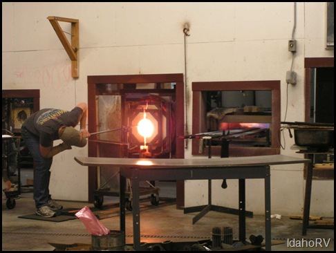Glassblowing-Demo
