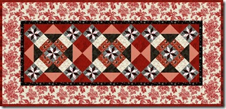 serendipity merge table runner red
