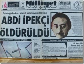 2 şubat 1979 tarihli Milliyet (Cihan Demirci arşivi)