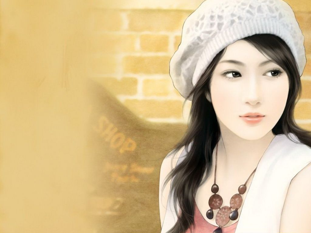 IPad Wallpapers Painting Girls Pictures