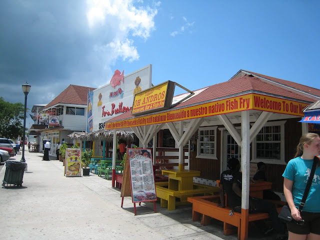 Fish fry nassau cruise critic message board forums for Fish fry nassau