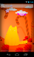 Screenshot of Hamlet the Cat Live wallpaper