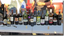 Variety of wines