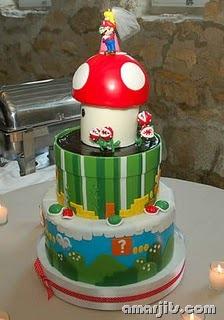 SUPER MARIO CAKE 2