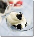 Delicious blackberry dessert