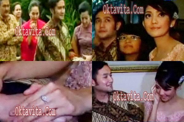 Pertunangan Ririn Dwi Aldi Bragi
