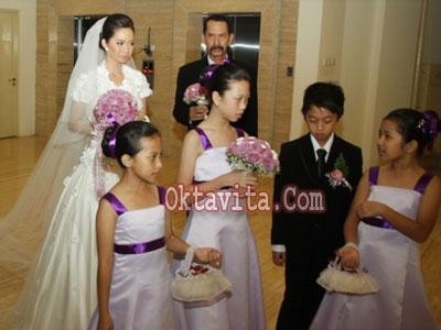 Pernikahan Verlita Evelyn dan Ivan Saba