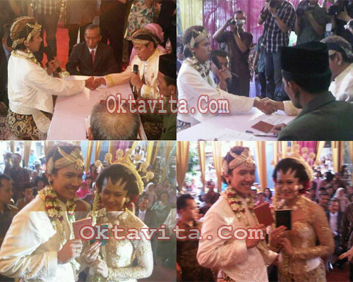 Erick dan Fany Menikah