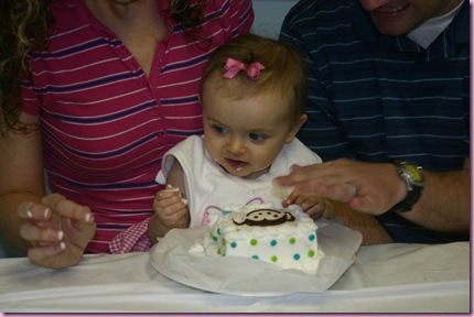 1st Birthday - 10-10-09 087
