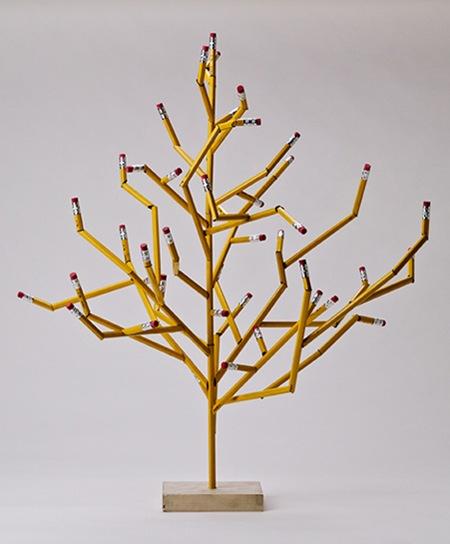 Pencil tree