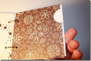 Mini Album 4x4 Brown Pocket