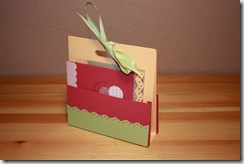 Stampers 6 - Card Set Holder