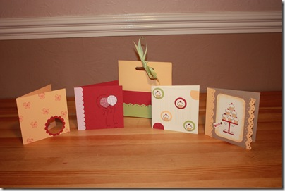 Stampers 6 - Card Set Holder & Cards