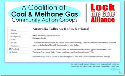 Coal & Methane Gas Coalition