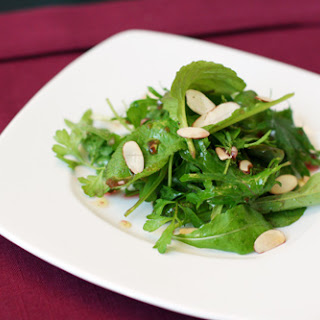 Green Salad With Champagne Vinegar And Pomegranate Seeds Recipes