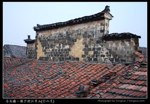 浙江-马头墙