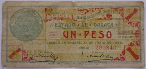 Billetes Antiguos de Oaxaca B_P1000926