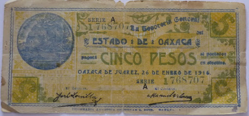 Billetes Antiguos de Oaxaca B_P1000932