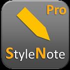 StyleNote Pro icon