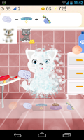 Screenshot of cat salon games