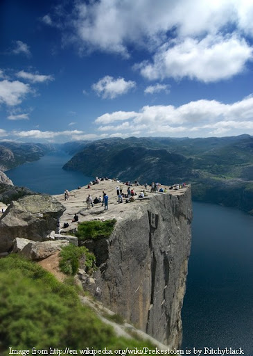 Preikestolen (Pulpit Rock), Norway