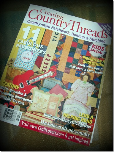Country Threads front cover