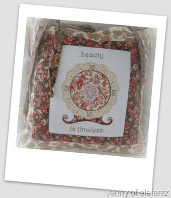 Jenny's cushion