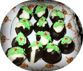 Christmas puddings 1