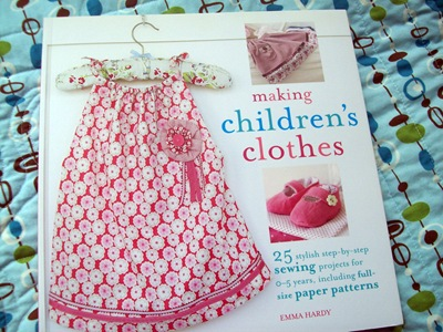 making childrens clothes book