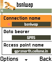 bsnl gprs settings up east