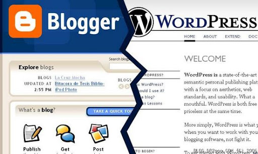 blogger is better than wordpress