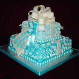 Instructions On How To Make A Tiffany Box Cake