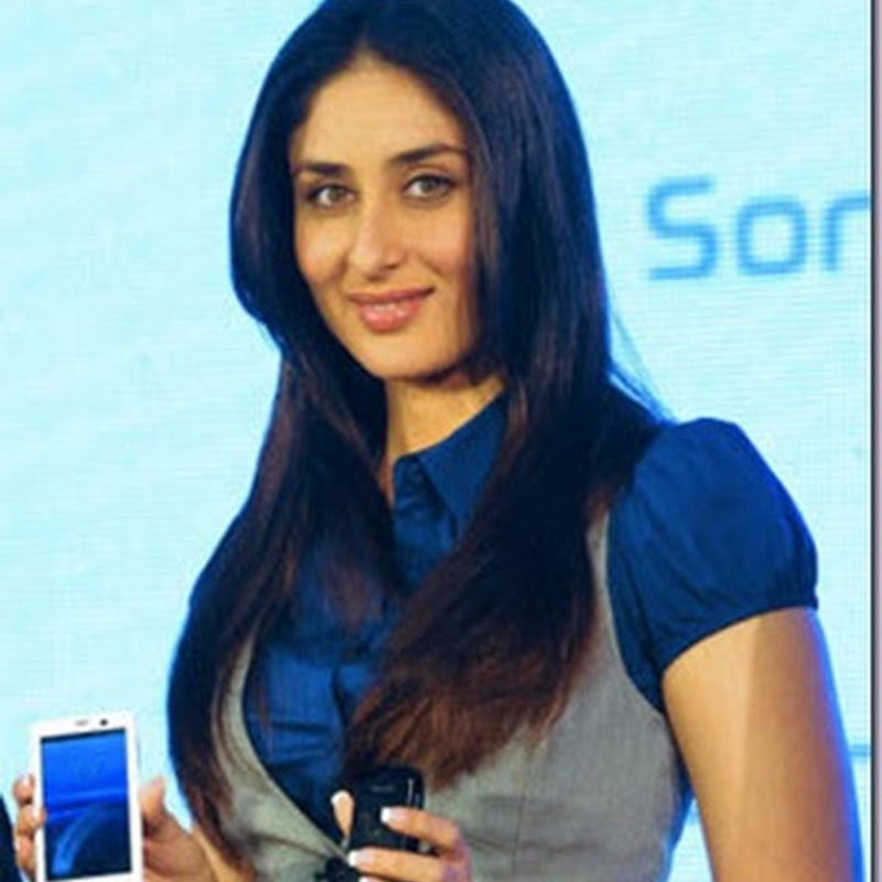 Kareena Kapoor as a new Sony Ericsson brand ambassador!