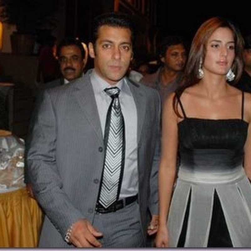 Salman and Katrina placing their bids separately