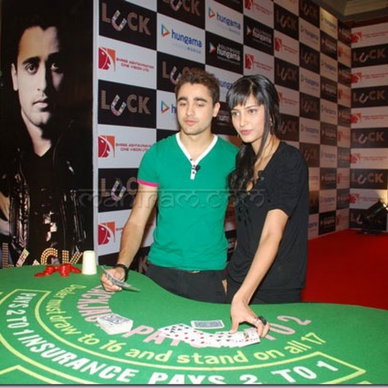Imran and Shruti launches 'luck' based game site