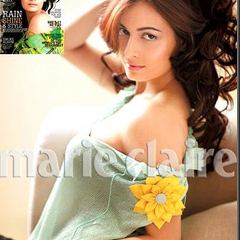 Dia Mirza graces two magazine covers this month
