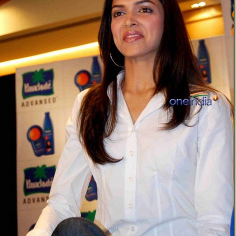 Deepika caught gossiping on the sets of Love Aaj Kal