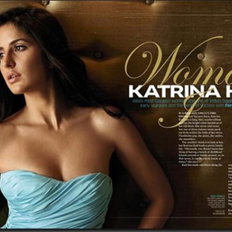 Katrina Kaif's GQ scans