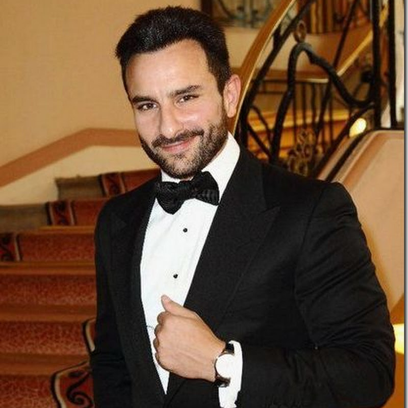Saif Ali Khan in dinner jacket at Cannes!