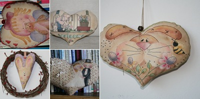 Visualizza heart pillow