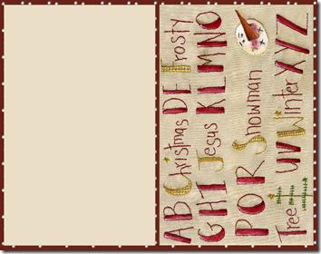 xmas alphabet_CARD