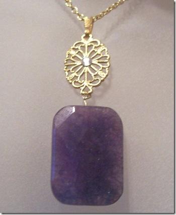victorian amethyst pendant gerrys jewel box