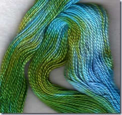 sassalunne jumbo perle yarn