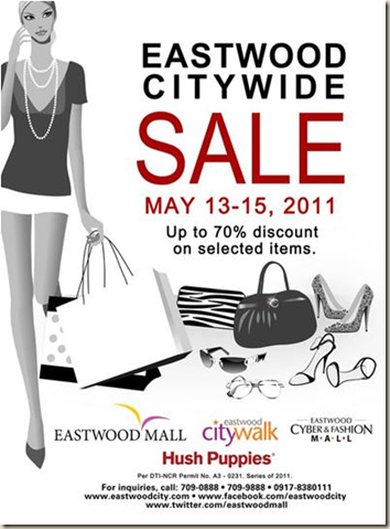 Eastwood May Sale