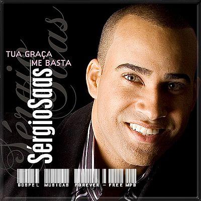 Capa CD Sergio Saas   Tua Graça Me Basta (Playback) | Baixar CD Gospel Grátis