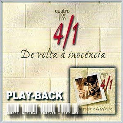 Quatro Por Um - De Volta A Inocência - Playback - 2004